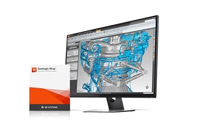 תוכנת עזר Geomagic Wrap - קליבר הנדסה ומחשבים